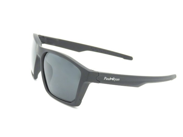 Óculos Solar Paul Ryan Preto Fosco 7406
