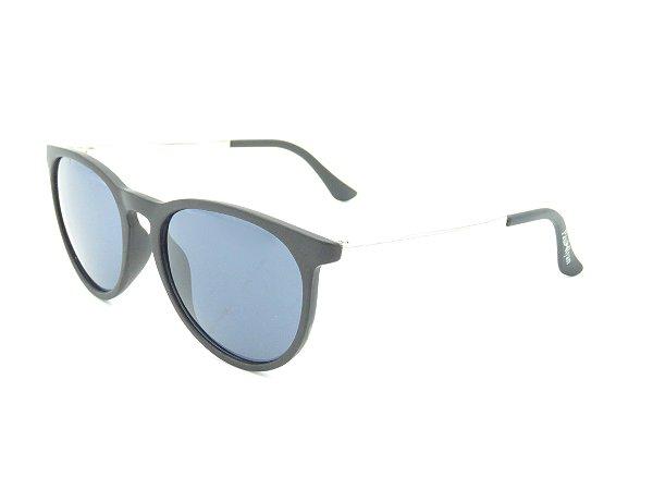 Óculos Solar Paul Ryan Preto Fosco e dourado 7412