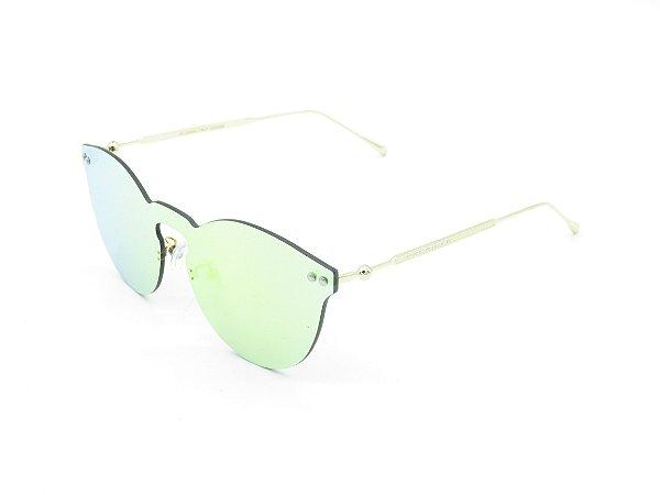 Óculos de Sol Prorider Dourado com lente espelhada FY8041-1
