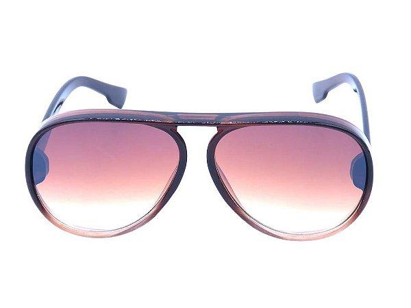 Óculos Solar Prorider Marrom Fosco Translúcido - YD1824C4