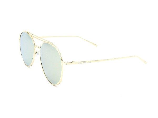 Óculos de Sol Paul Ryan Dourado com lente fumê PARINACOTA