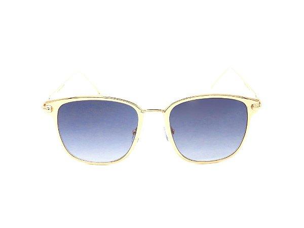 Óculos Solar Paul Ryan dourado FY8031C2