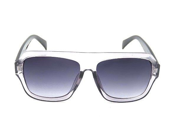 Óculos solar Paul Ryan preto e optyl FY82005C6