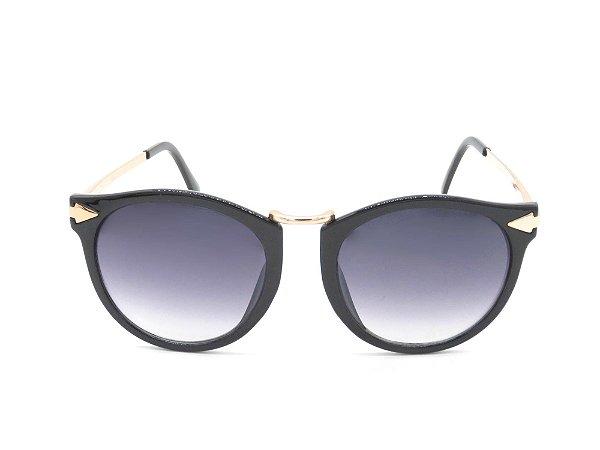 Óculos de Sol Paul Ryan Dourado e preto JOURNEY