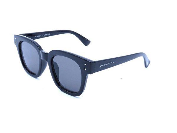 Óculos solar Prorider preto com lente fumê CJH72027C1