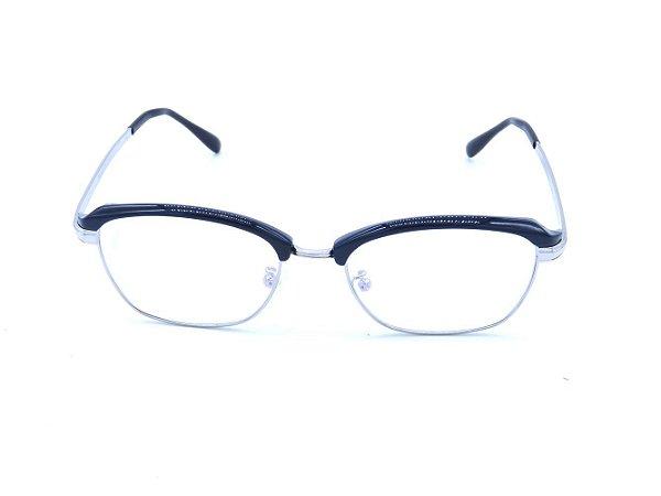 Óculos de Grau Prorider Preto com Prata - 2740-C8