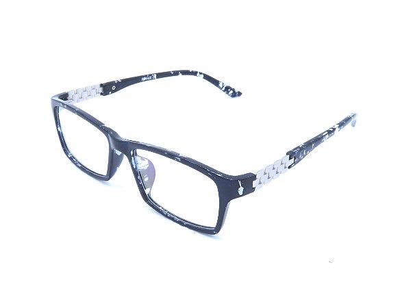 b99f128d6 Óculos de grau Prorider animal print azul com prata 2874-C27 ...