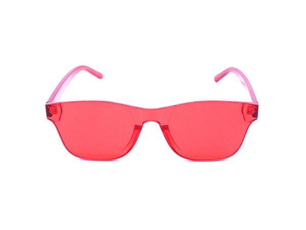 Óculos Solar Optyl Prorider Vermelho Translúcido