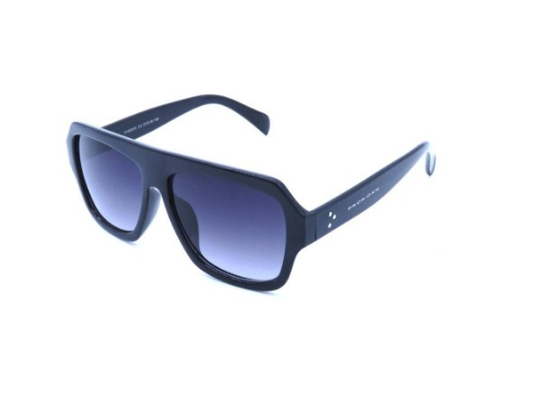 Óculos solar Preto com Lente Degrade - FY82005C5