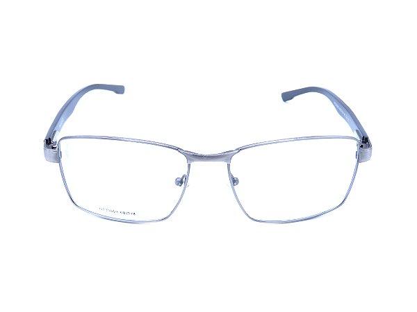 Óculos Receituário Prorider Prata com Azul Escuro - HT33053
