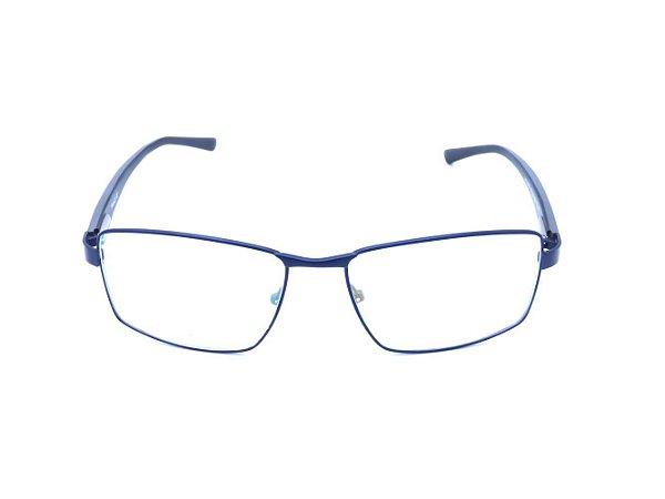 Óculos Receituário Prorider Azul Escuro e Cinza - HT33061C2