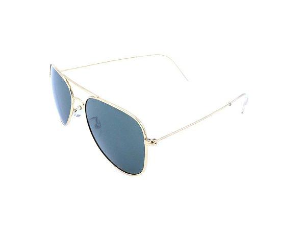 Óculos Solar Prorider Dourado com Lente Fumê - HUAHINE