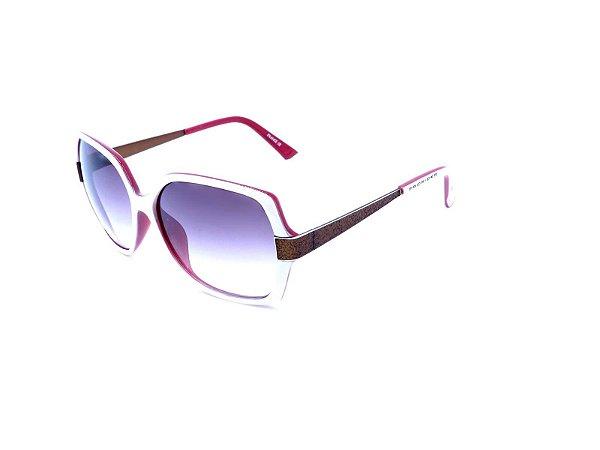 Óculos Solar Prorider Branco e Vermelho - S3726-C30