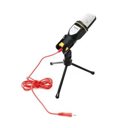Microfone Condensador Prorider Acme Inc MTG-020 Preto e Laranja - AI0011