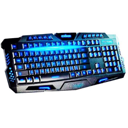 Teclado Prorider Acme Inc Multimídia Action Gamer BK-G35 Preto - AI0018