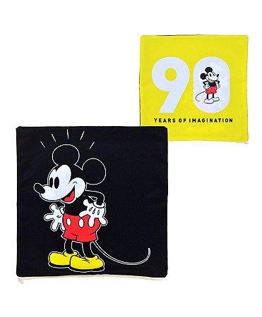 Capa de Almofada Mickey 90 Anos 45x45cm  - Disney