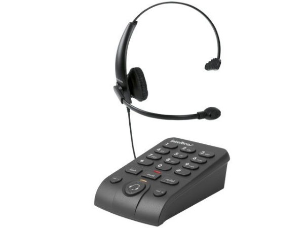 HEADSET INTELBRAS ICON HSB50 TELEFONE DIGITAL EMBORRACHADO