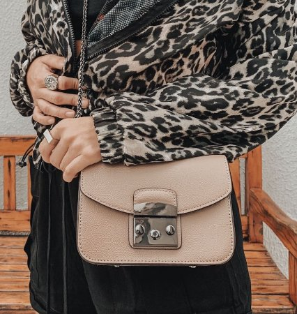MINI BAG CROSSBODY METAL
