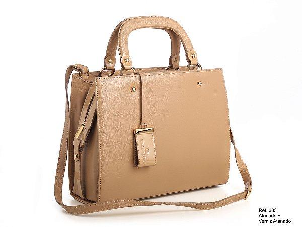 Bolsa em couro Ref 303