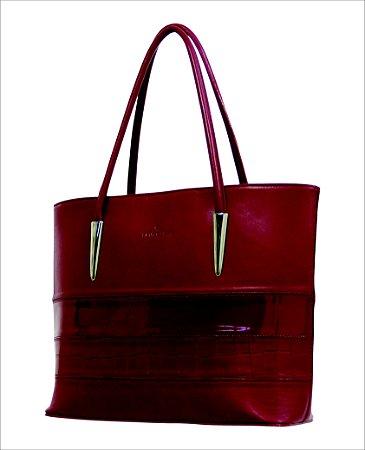 Bolsa Shopping Bag em couro Coleção Dia das Mães