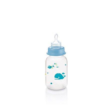Mamadeira Ocean PP Azul Ortoflex 125ml Multikids Baby - BB117