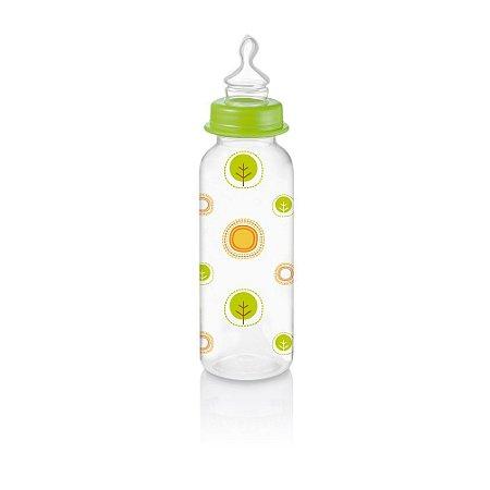 Mamadeira Nature PP Verde Ortoflex 250ml Multikids Baby - BB115