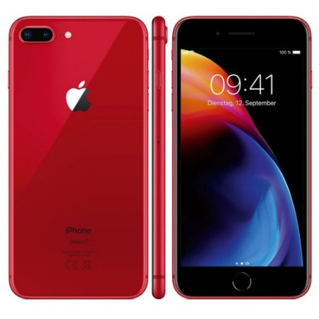 Phone 8 Plus 64GB RED Vermelho , Apple (Vitrine)
