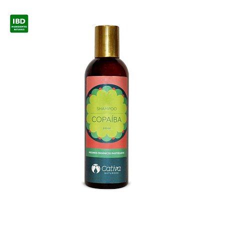 Cativa Natureza Shampoo Copaiba Anti-Caspa Cabelos Oleosos  240 ml