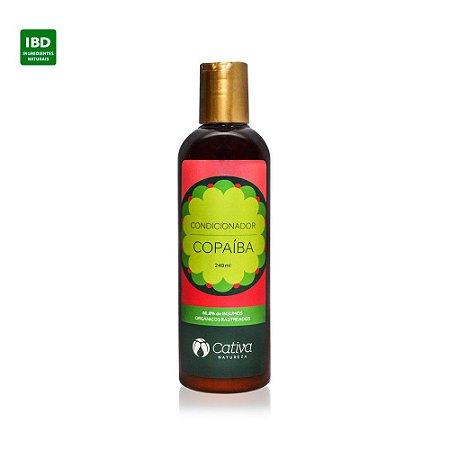 Cativa Natureza Condicionador Copaíba Anti-Caspa Cabelos Oleosos  240 ml