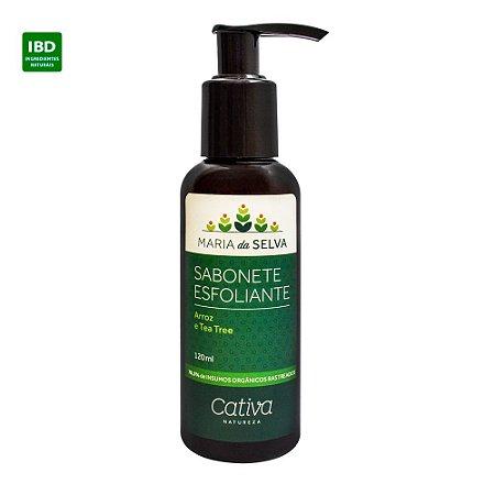Cativa Natureza Sabonete Esfoliante Facial Maria da Selva 120 ml