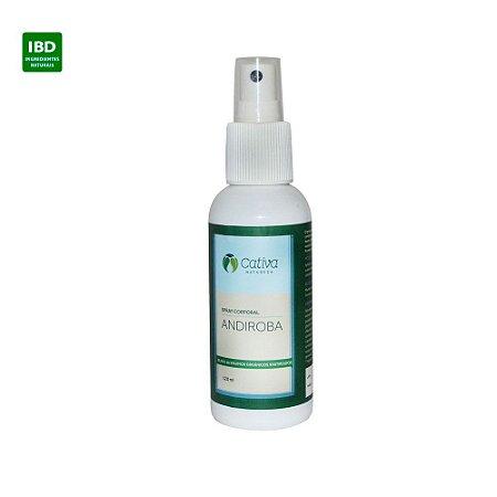 Cativa Natureza Spray Corporal Andiroba, Neem e Citronela - Repelente Natural 120 ml