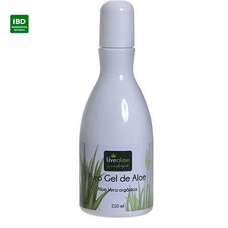 Livealoe Puro Gel de Aloe Babosa 210 ml