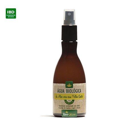 Livealoe Água Biológica Aloe Vera com Folha Santa 210 ml - Vence em outubro 17