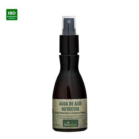Livealoe Água Nutritiva Ácido Hialurônico com Colágeno Vegetal 120 ml