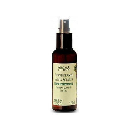 Arte dos Aromas Desodorante Sálvia Sclarea Spray 120 ml
