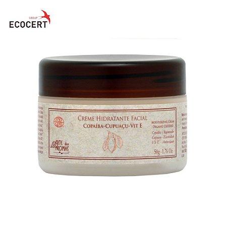 Arte dos Aromas Hidratante Facial Copaíba, Cupuaçu Tea Tree 50g