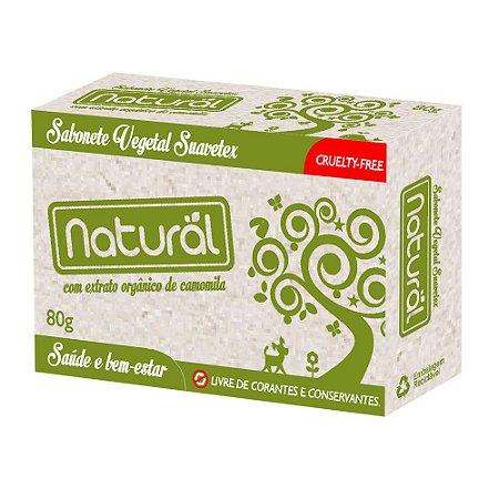 Contente Sabonete Vegetal Natural com Extrato de Camomila 80g