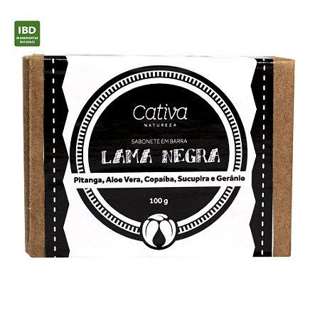 Cativa Natureza Sabonete em barra Lama Negra 100g