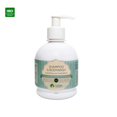Cativa Natureza Shampoo & Sabonete Calêndula e Camomila 315 ml