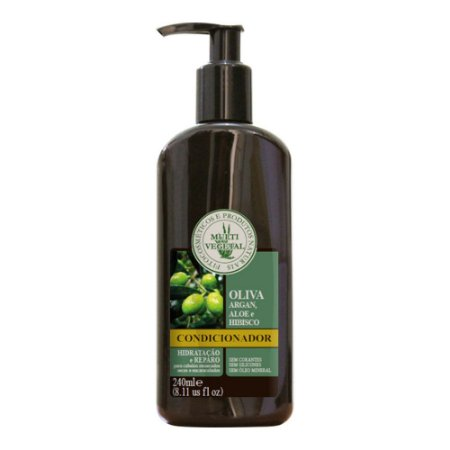 Multi vegetal Condicionador de Argan com Babosa e Hibisco 250 ml - Vence em jan/18