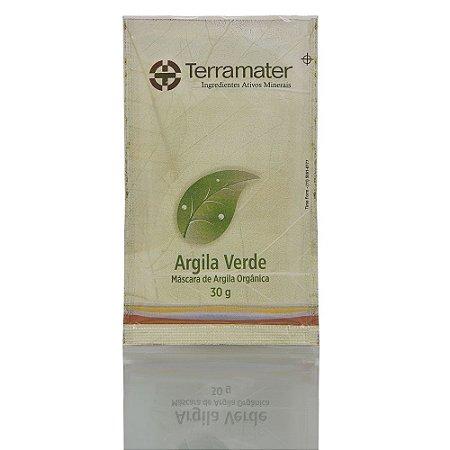 Terramater  Argila Mineral Orgância Verde Anti Oleosidade 30g