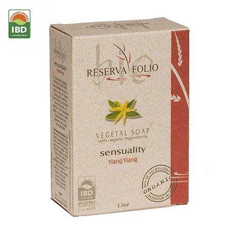 Reserva Folio Sabonete Orgânico Glicerinado Sensualidade Ylang Ylang 100g