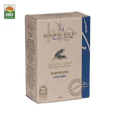 Reserva Folio Sabonete Orgânico Glicerinado Harmonia Lavanda 100g