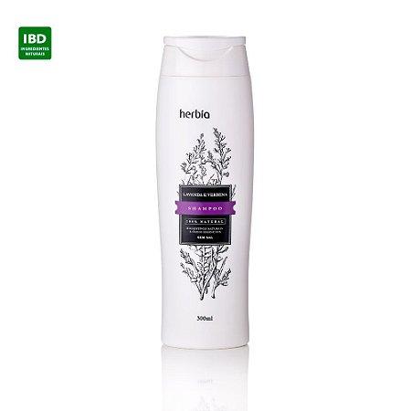 Herbia Shampoo Orgânico Lavanda e Verbena Cabelos Secos ou Normais 300 ml