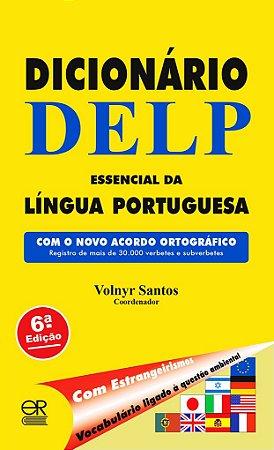 DELP - Dicionário Essencial da Língua Portuguesa (português brasileiro)