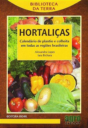 Hortaliças - Calendário de Plantio e Colheita em Todas as Regiões Brasileiras