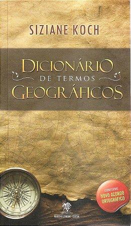 Dicionário de termos geográficos
