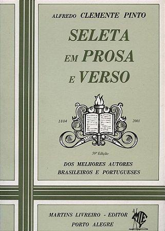 SELETA EM PROSA E VERSO - 59a edição