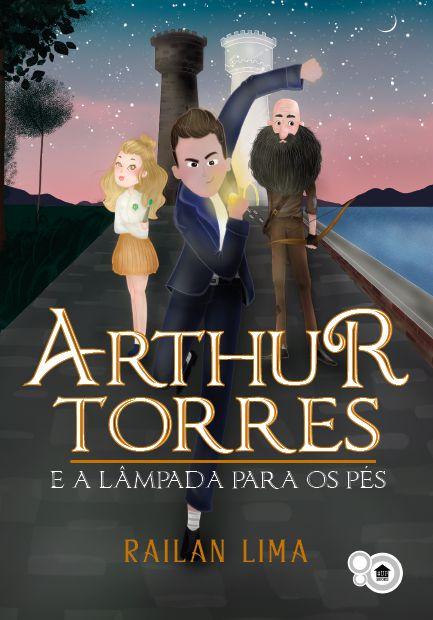 Arthur Torres e a lâmpada para os pés (Railan Lima)