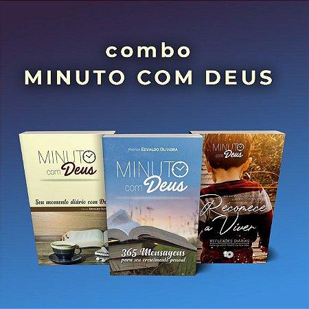 Combo Minuto com Deus (Pastor Edvaldo Oliveira)